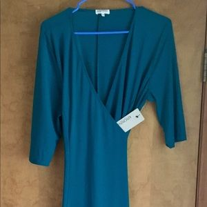 Kiyonna Essential Wrap Dress NWT